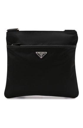 Мужская текстильная сумка PRADA черного цвета, арт. 2VH053-2DMH-F0002-OOO | Фото 1