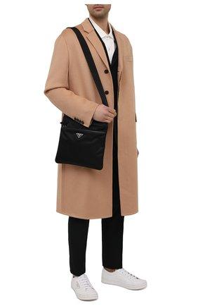 Мужская текстильная сумка PRADA черного цвета, арт. 2VH053-2DMH-F0002-OOO | Фото 2