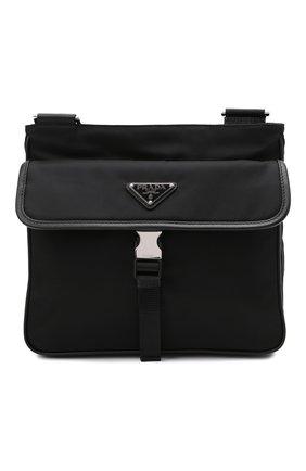 Мужская текстильная сумка PRADA черного цвета, арт. 2VH119-2DMH-F0002-OOO | Фото 1