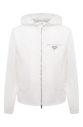 Мужская куртка PRADA белого цвета, арт. SGX685-1WQ8-F0009-211 | Фото 1