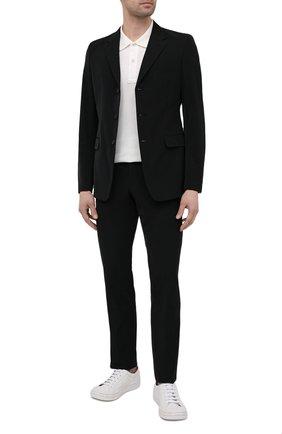 Мужской костюм PRADA черного цвета, арт. UAF436-1KJW-F0002-152 | Фото 1