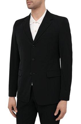 Мужской костюм PRADA черного цвета, арт. UAF436-1KJW-F0002-152 | Фото 2