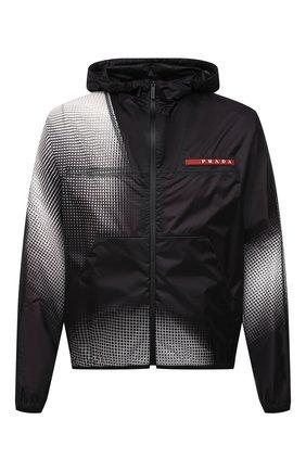 Мужская куртка PRADA черного цвета, арт. SGB709-1YHS-F0002-211 | Фото 1