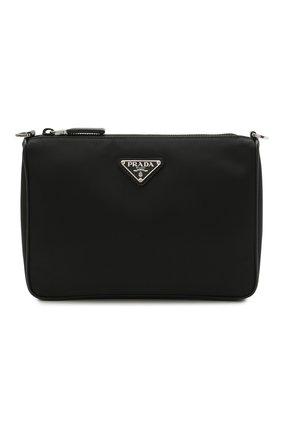 Мужская текстильная сумка PRADA черного цвета, арт. 2VH113-2DMH-F0002-OOO | Фото 1
