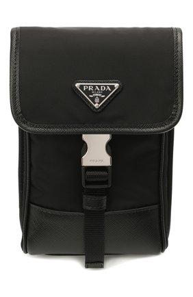 Чехол для iphone PRADA черного цвета, арт. 2ZH109-2DMH-F0002 | Фото 1