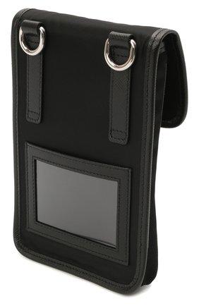 Чехол для iphone PRADA черного цвета, арт. 2ZH109-2DMH-F0002 | Фото 2