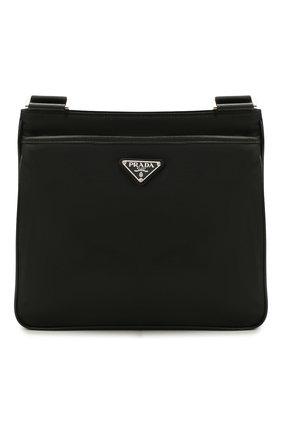 Мужская текстильная сумка PRADA черного цвета, арт. 2VH118-2DMH-F0002-OOO | Фото 1