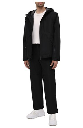 Мужская куртка PRADA черного цвета, арт. SGB443-1V94-F0002-201 | Фото 2