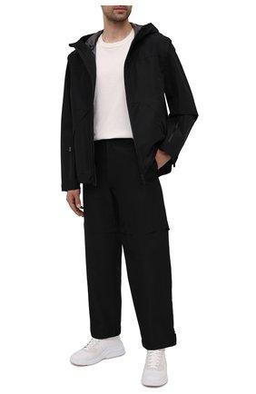 Мужские брюки PRADA черного цвета, арт. SPH55-1V94-F0002-201 | Фото 2