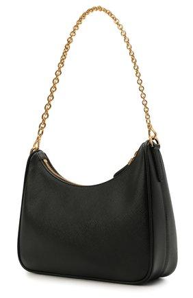 Женская сумка prada re edition bag PRADA черного цвета, арт. 1BH204-NZV-F0632-V2M   Фото 2