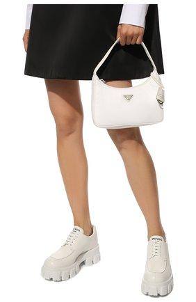 Женская сумка prada re edition bag PRADA белого цвета, арт. 1NE515-RDH0-F0009   Фото 2