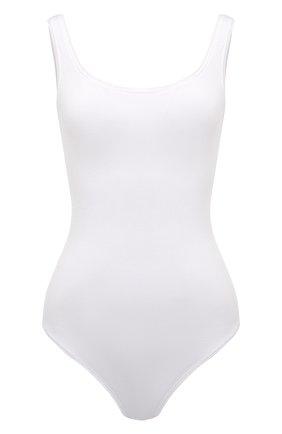 Женское боди WOLFORD белого цвета, арт. 75011 | Фото 1