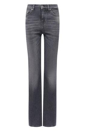 Женские джинсы 7 FOR ALL MANKIND серого цвета, арт. JSQNR860GN | Фото 1