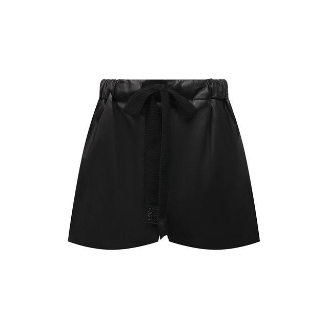Кожаные шорты Loewe