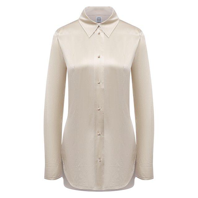 Шелковая рубашка TOTÊME 12070570