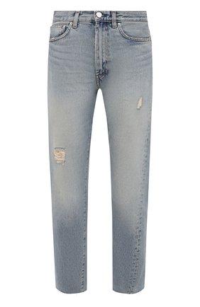 Женские джинсы TOTÊME голубого цвета, арт. 213-232-741 | Фото 1