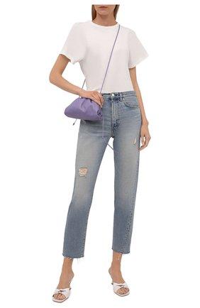 Женские джинсы TOTÊME голубого цвета, арт. 213-232-741 | Фото 2