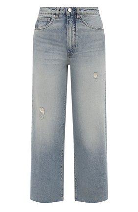 Женские джинсы TOTÊME голубого цвета, арт. 213-230-741 | Фото 1