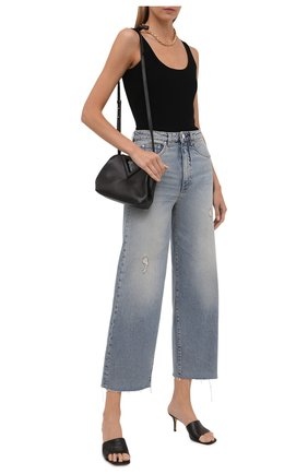 Женские джинсы TOTÊME голубого цвета, арт. 213-230-741 | Фото 2