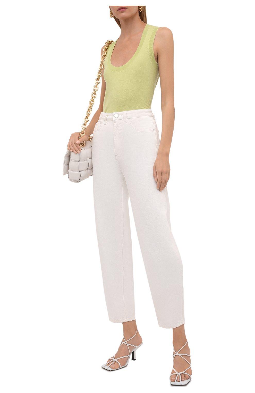 Женские джинсы TOTÊME белого цвета, арт. 211-238-748 | Фото 2