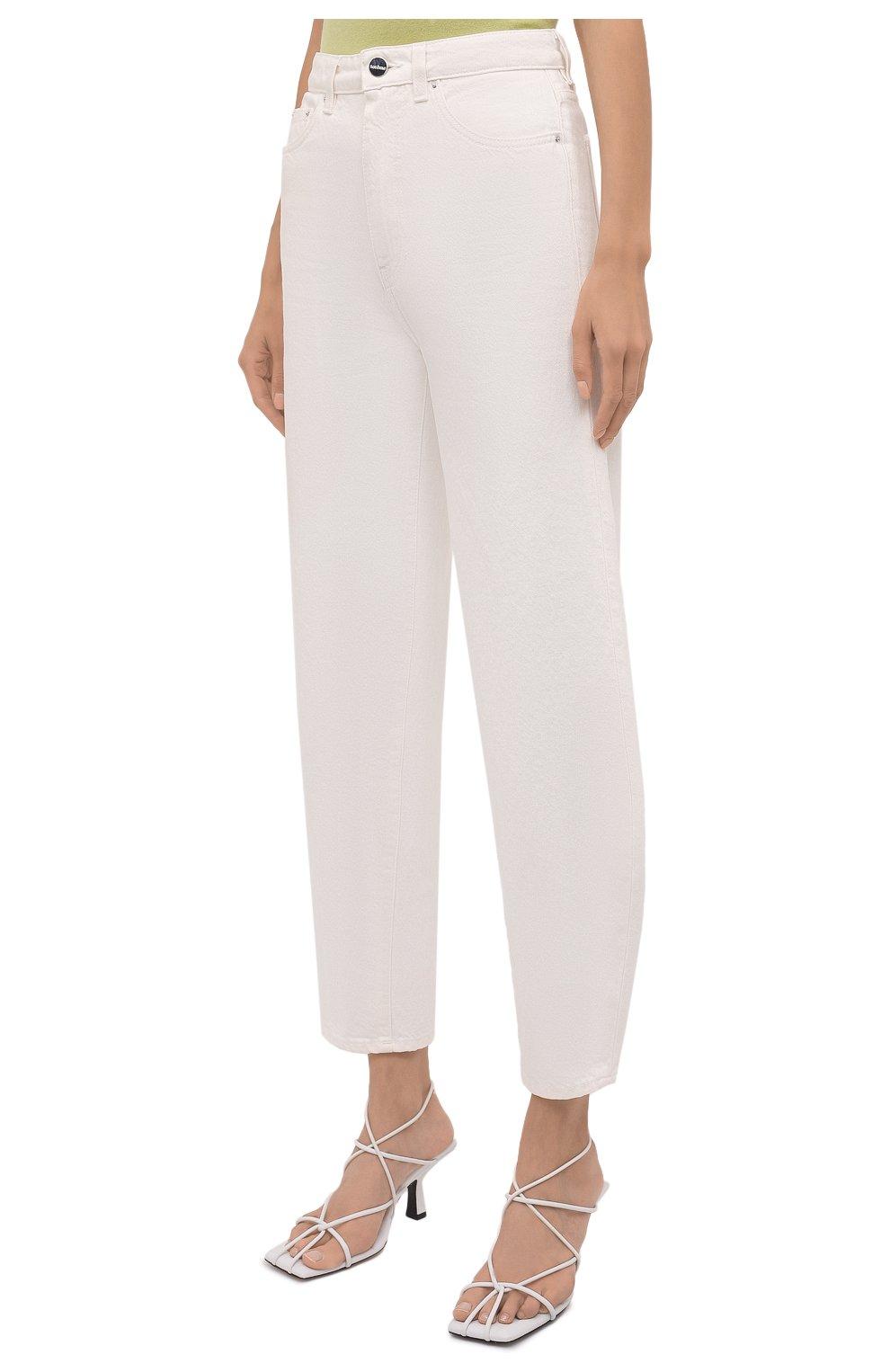 Женские джинсы TOTÊME белого цвета, арт. 211-238-748 | Фото 3