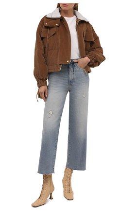 Женская куртка LORENA ANTONIAZZI бежевого цвета, арт. A2168PI07A/3068 | Фото 2