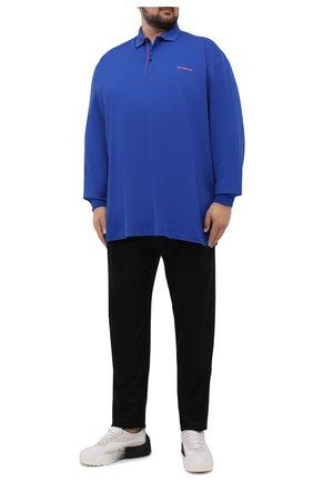 Мужские брюки из шерсти и кашемира MARCO PESCAROLO черного цвета, арт. CHIAIAM/ZIP+SFILA/4438 | Фото 2 (Материал внешний: Кашемир, Шерсть; Длина (брюки, джинсы): Стандартные; Случай: Повседневный; Стили: Кэжуэл)