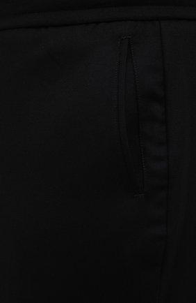Мужские брюки из шерсти и кашемира MARCO PESCAROLO черного цвета, арт. CHIAIAM/ZIP+SFILA/4438 | Фото 5 (Материал внешний: Шерсть, Кашемир; Длина (брюки, джинсы): Стандартные; Случай: Повседневный; Стили: Кэжуэл)