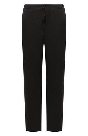 Мужские кашемировые брюки MARCO PESCAROLO темно-зеленого цвета, арт. CHIAIAM/ZIP+SFILA/4442 | Фото 1