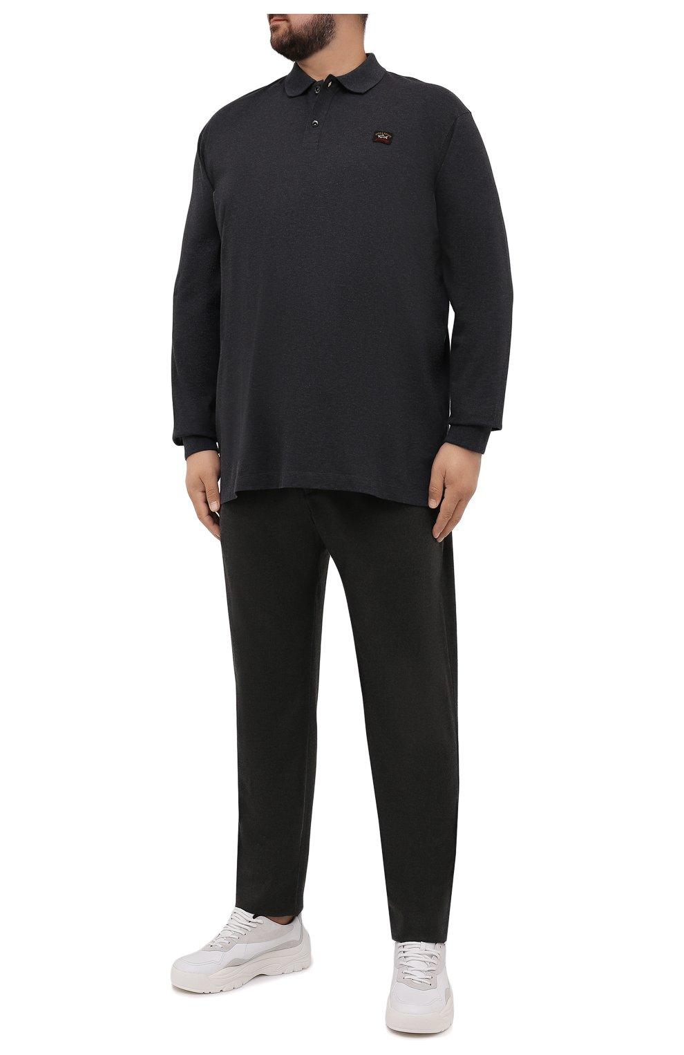 Мужские кашемировые брюки MARCO PESCAROLO темно-зеленого цвета, арт. CHIAIAM/ZIP+SFILA/4442   Фото 2 (Материал внешний: Шерсть, Кашемир; Длина (брюки, джинсы): Стандартные; Случай: Повседневный; Стили: Кэжуэл)