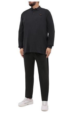Мужские кашемировые брюки MARCO PESCAROLO темно-зеленого цвета, арт. CHIAIAM/ZIP+SFILA/4442 | Фото 2