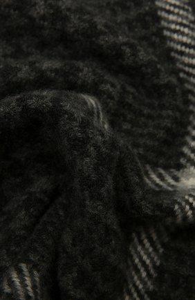 Мужской кашемировый шарф ERMENEGILDO ZEGNA темно-серого цвета, арт. Z2L03S/22A | Фото 2
