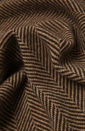 Мужской кашемировый шарф ERMENEGILDO ZEGNA светло-коричневого цвета, арт. Z2L03S/22A | Фото 2