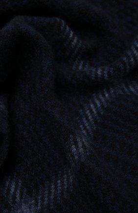 Мужской кашемировый шарф ERMENEGILDO ZEGNA темно-синего цвета, арт. Z2L03S/22A | Фото 2