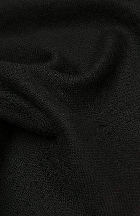Мужской шерстяной шарф ERMENEGILDO ZEGNA черного цвета, арт. Z2L01S/2YH | Фото 2