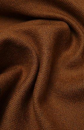 Мужской шерстяной шарф ERMENEGILDO ZEGNA коричневого цвета, арт. Z2L01S/2YH | Фото 2