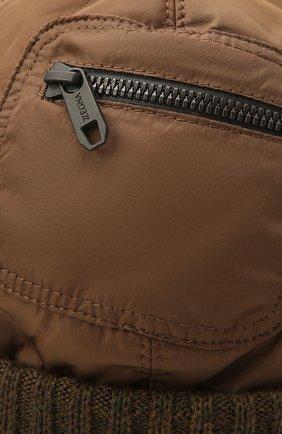 Мужская утепленная шапка Z ZEGNA светло-коричневого цвета, арт. Z2I74H/B2W | Фото 3 (Материал: Текстиль)