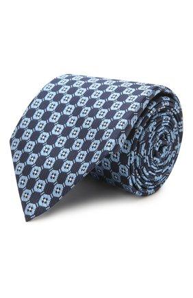 Мужской шелковый галстук ERMENEGILDO ZEGNA голубого цвета, арт. Z2D83T/1UM | Фото 1