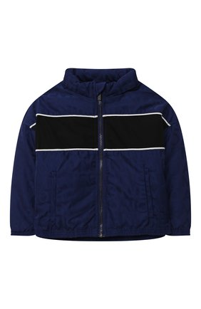 Детского куртка EMPORIO ARMANI синего цвета, арт. 6KHBP9/1NWEZ   Фото 1