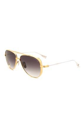 Женские солнцезащитные очки DITA золотого цвета, арт. SUBSYSTEM/01 | Фото 1