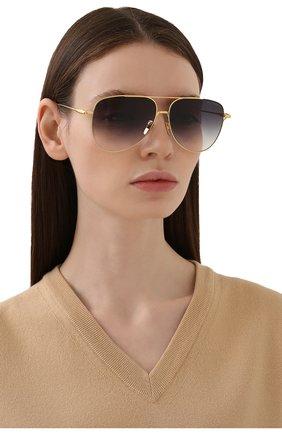 Женские солнцезащитные очки DITA черного цвета, арт. M0DDICT/01 | Фото 2
