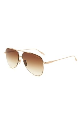 Женские солнцезащитные очки DITA коричневого цвета, арт. M0DDICT/02 | Фото 1