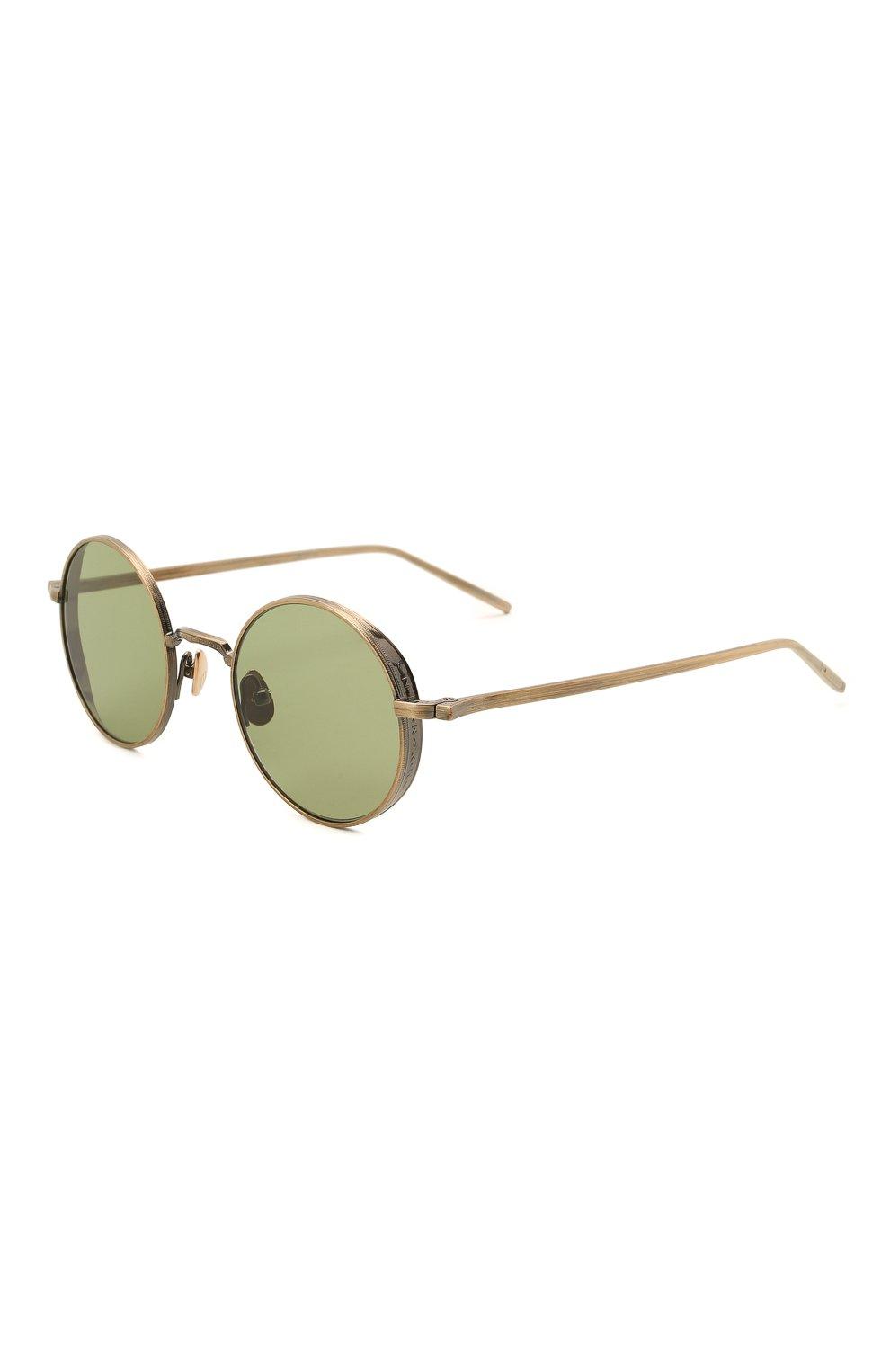 Женские солнцезащитные очки MATSUDA золотого цвета, арт. M3087 AG   Фото 1 (Тип очков: С/з; Очки форма: Круглые; Оптика Гендер: оптика-унисекс)