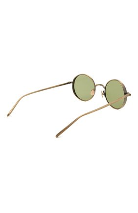 Женские солнцезащитные очки MATSUDA золотого цвета, арт. M3087 AG   Фото 5 (Тип очков: С/з; Очки форма: Круглые; Оптика Гендер: оптика-унисекс)