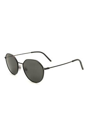 Женские солнцезащитные очки DOLCE & GABBANA черного цвета, арт. 2271-110687 | Фото 1
