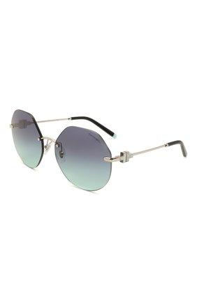 Женские солнцезащитные очки TIFFANY & CO. черного цвета, арт. 3077-60019S | Фото 1