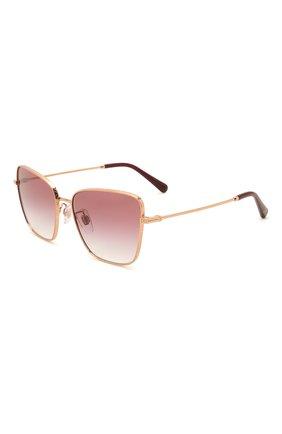 Женские солнцезащитные очки DOLCE & GABBANA бордового цвета, арт. 2275-12988H | Фото 1