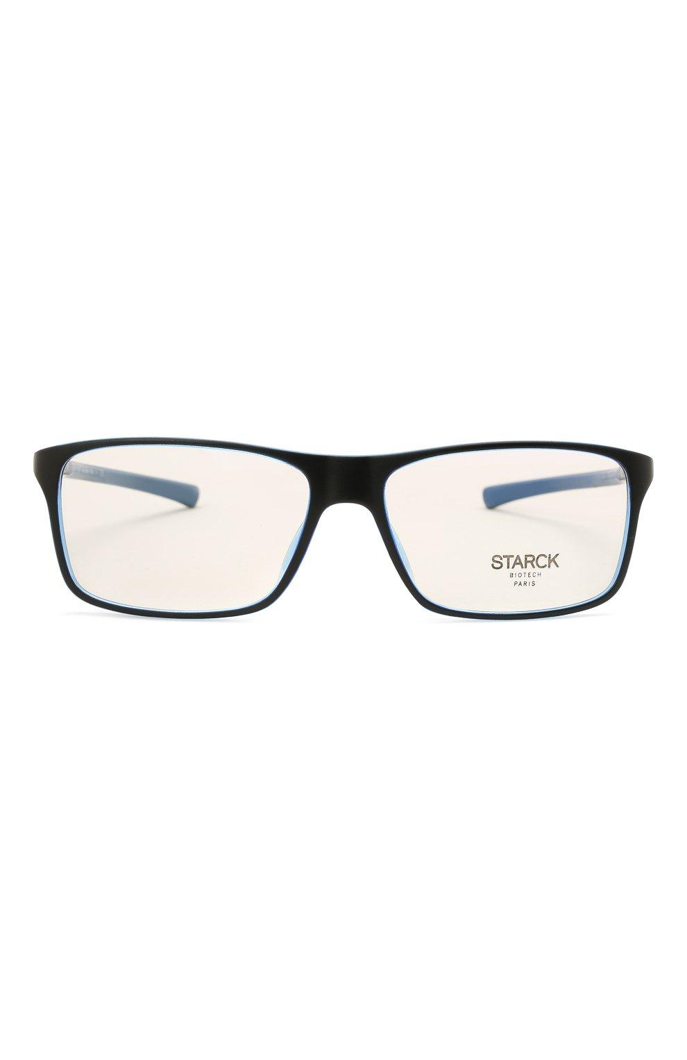 Мужские оправа STARCK EYES черного цвета, арт. 1043M-0005 | Фото 3 (Тип очков: Оправа; Очки форма: Прямоугольные; Оптика Гендер: оптика-мужское)