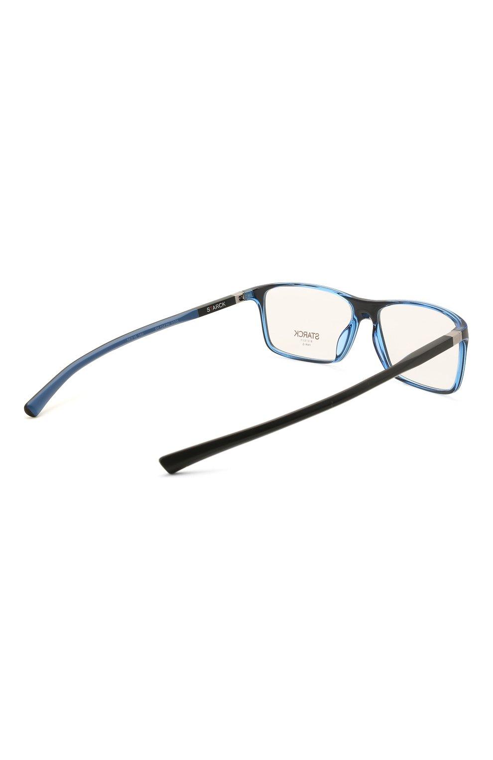 Мужские оправа STARCK EYES черного цвета, арт. 1043M-0005 | Фото 4 (Тип очков: Оправа; Очки форма: Прямоугольные; Оптика Гендер: оптика-мужское)