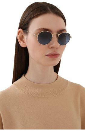 Женские солнцезащитные очки OLIVER PEOPLES синего цвета, арт. 1282ST-5292P4 | Фото 2